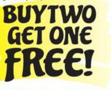 BUYY2get1free